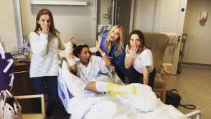 Spice Girls Mel B ha subito un'intervento d'urgenza