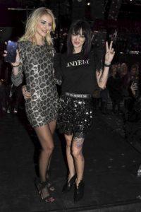 Asia Argento e Chiara Ferragni ecco il loro look alle sfilat