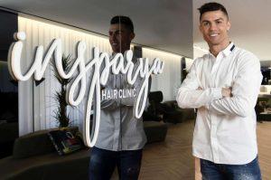 Cristiano Ronaldo a Madrid apre una clinica per il trapianto