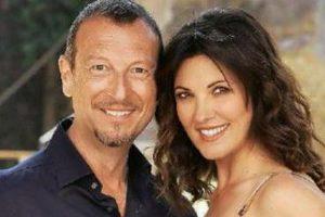 Giovanna Civitillo con Amadeus ci sposeremo in Chiesa