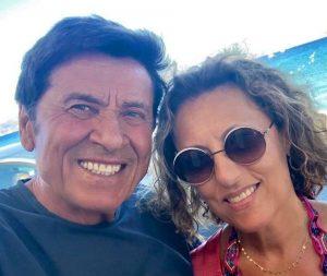 Gianni Morandi e Anna 25 anni insieme e sui social spunta una romantica dedica