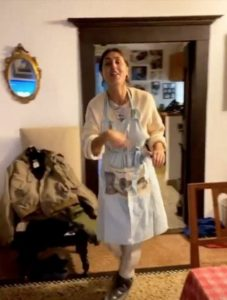 Cecilia Rodriguez in quarantena nei panni di in una perfetta