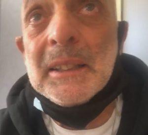 """GF Vip 5, Paolo Brosio in lacrime: """"Sto male, vedo la gente morire di Coronavirus"""""""